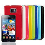 Samsung i9100 Galaxy S II  韓國風軟式晶鑽套-VXTRA亮彩系列(共8色)