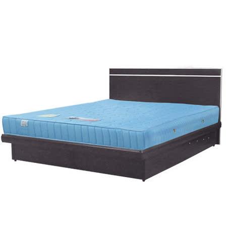《Homelike》麗緻6尺雙人加大掀床組(床台+床頭片)(四色可選)