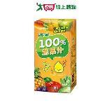 波蜜100%蔬果汁160ml*6入/組