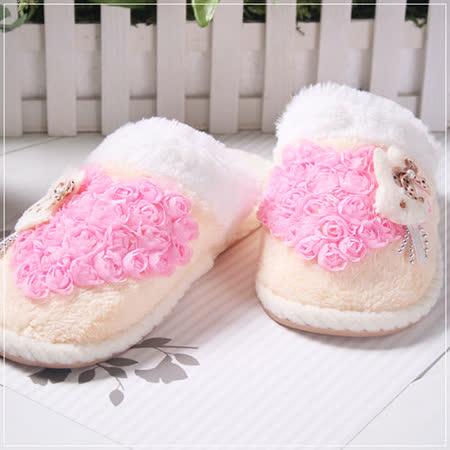 (購物車)魔法Baby ~暖呼呼毛絨絨媽咪室內鞋(成人用)~s5164