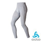 ODLO 銀纖維保暖排汗長褲(男)(石灰)