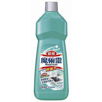 魔術靈廚房清潔劑經濟瓶-萊姆香500ml*2入/ 組