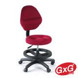 吉加吉 兒童成長椅 TW-009 滑輪款 3色可選 3D立體(小顆)坐墊 學齡電腦椅 調整坐姿