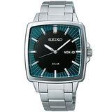 SEIKO SPIRIT 太陽能復古風尚腕錶(V158-0AF0B)