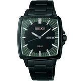SEIKO SPIRIT 太陽能復古風尚腕錶(V158-0AF0SD)