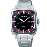 SEIKO SPIRIT 太陽能復古風尚腕錶(V158-0AF0R)