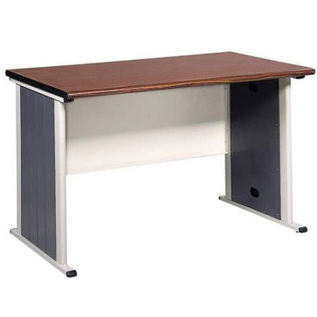 120CM 胡桃木紋色辦公桌,電腦桌(BYS120)