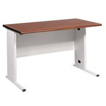 160CM 胡桃木紋色BTH辦公桌,電腦桌(淺灰)(BTH160)