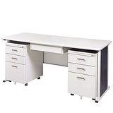 灰色YS辦公桌櫃組150CM