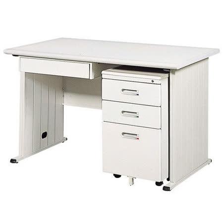灰色THA辦公桌櫃組120CM