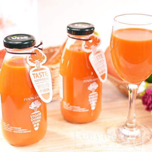 【東勢果菜生產合作社】100%全果蔬果汁48瓶(290ml/瓶)