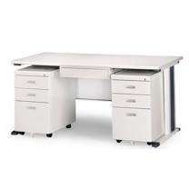 灰色KH辦公桌櫃組150CM
