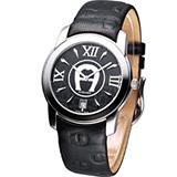 AIGNER Milano 文化藝術 時尚腕錶-(AGA14125)黑