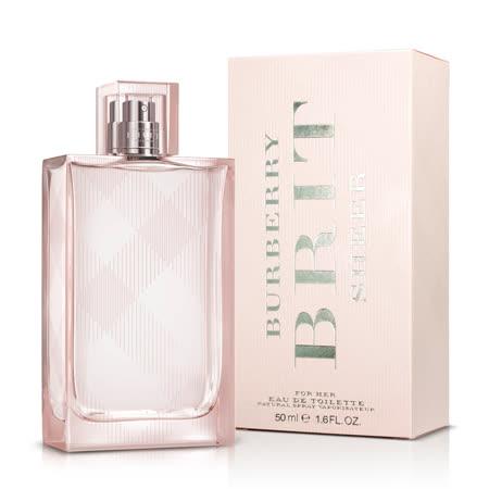 BURBERRY 粉紅風格女性淡香水(50ml)