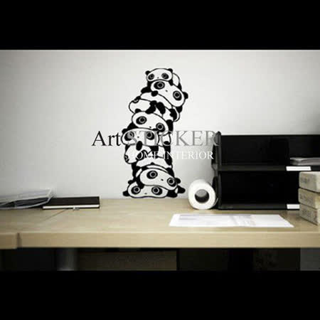 Art STICKER璧貼 。 Panda (A016)