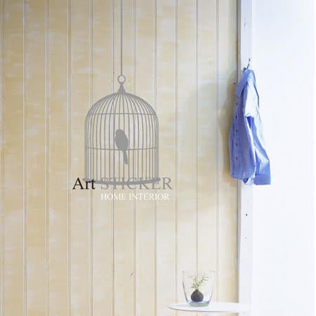 Art STICKER璧貼 。 鳥籠 Antique Cage (A023)