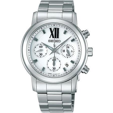 SEIKO lk 星光閃耀計時腕錶(V175-0AC0S)