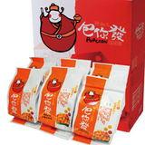 【鮮潮流】六六納福禮盒爆米花(經典蜜糖、焦糖、巧克力、起司、芥末海苔、海苔)(含運)