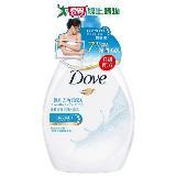 多芬Dove滋養柔膚沐浴乳-溫和去角質1000ml
