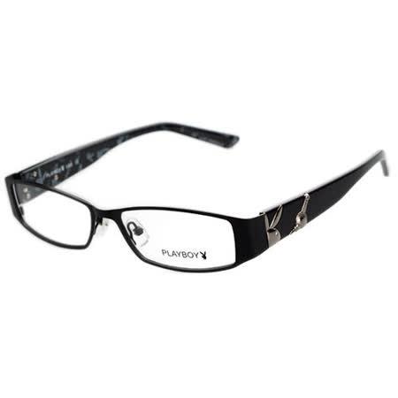 上海明珠塔系列!PLAYBOY-時尚光學眼鏡 (黑色)PB82321