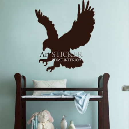 Art STICKER璧貼 。Eagle (A050)