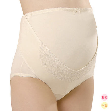 妮妮 NiNi 機能型托腹褲(黃/粉)