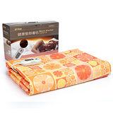 Comefree雙人健康舒眠電熱毯CF-265-鮮橙橘