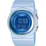 CASIO Baby-G 知性甜美 運動錶-(BGD-100-2D)藍色