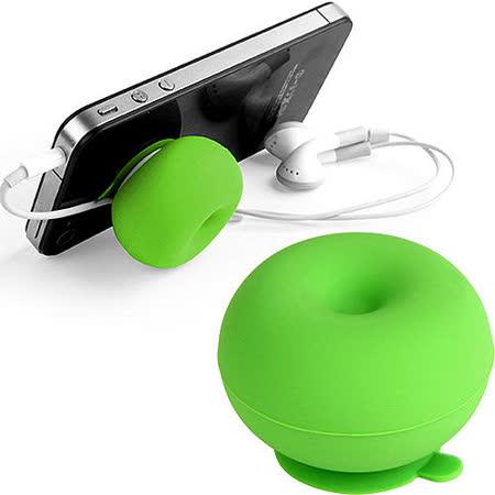 《KIKKERLAND》iCushion 捲線器手機座(綠)