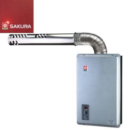 SAKURA櫻花 12L 強排式 恆溫熱水器H~1288