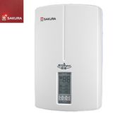 SAKURA櫻花 瞬熱式9段定溫數位恆溫熱水器 H-118/SH-118 廚房適用