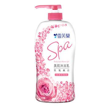 雪芙蘭美肌SPA沐浴乳-玫瑰嫩白1000ml