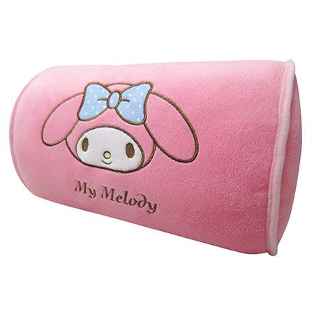 【享夢城堡】美樂蒂 MY MELODY系列-頭頸兩用枕
