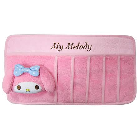 【享夢城堡】美樂蒂 MY MELODY系列-遮陽板多功能套夾