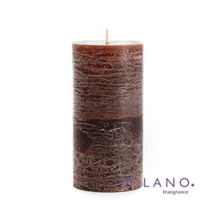 【MILANO 米蘭香氛蠟燭】聖誕懈寄生檀香木香氛手工蠟燭(3x6吋)