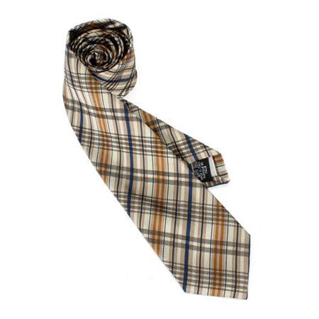 【好物推薦】gohappy快樂購Vivienne Westwood 斜格紋絲質領帶(卡其/駝)效果如何遠 百 sogo