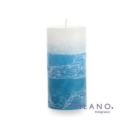 【MILANO 米蘭香氛蠟燭】漸層暈染微風香氛手工蠟燭(3x6吋)