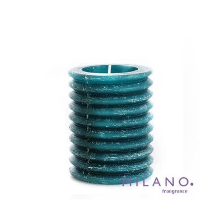 【MILANO 米蘭香氛蠟燭】層層圓圈南洋香氛手工蠟燭(3x4吋)