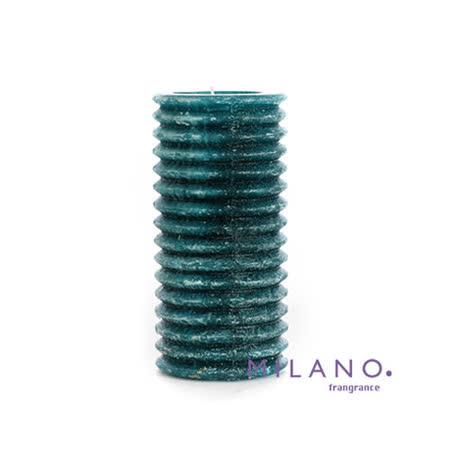 【MILANO 米蘭香氛蠟燭】層層圓圈南洋香氛手工蠟燭(3x6吋)