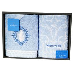WEDGWOOD童話魔鏡公主毛巾二入禮盒