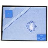 WEDGWOOD 童話魔鏡公主水藍棉毯禮盒(水藍)