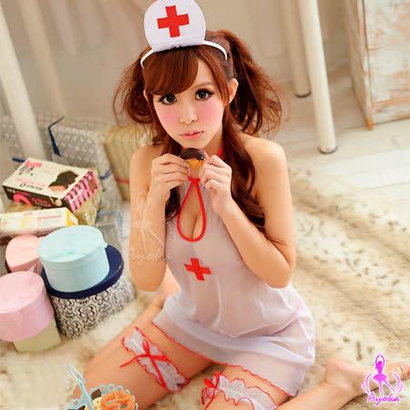 【Ayoka】急診室女神!性感五件式護士服