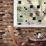 DECOIN彩繪窗貼-咖啡窗格