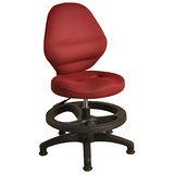 賈伯斯專利透氣孔兒童成長學習椅(紅色)