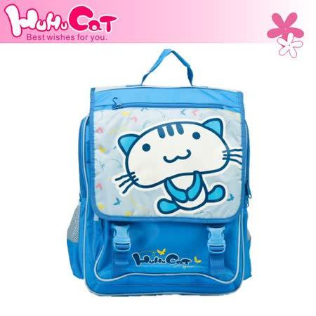 【Hu Hu Cat】呼呼貓 中高年級 輕型護脊書包 (海洋藍) 7800-25