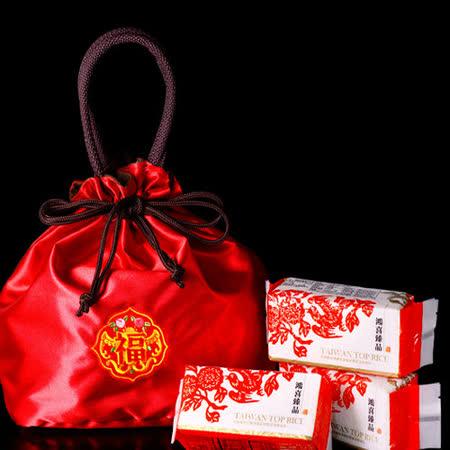 米屋大紅福禮袋_鴻喜系列(300克*6包/袋,2袋/箱)