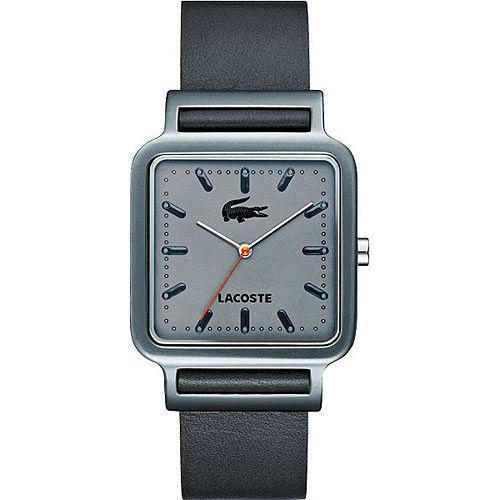 Lacoste 鱷魚 簡約潮流中性腕錶(L2020020)-灰