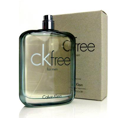 CK free 男性淡香水100ml-Tester包裝