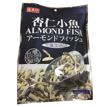 盛香珍元氣加油站-杏仁小魚110g