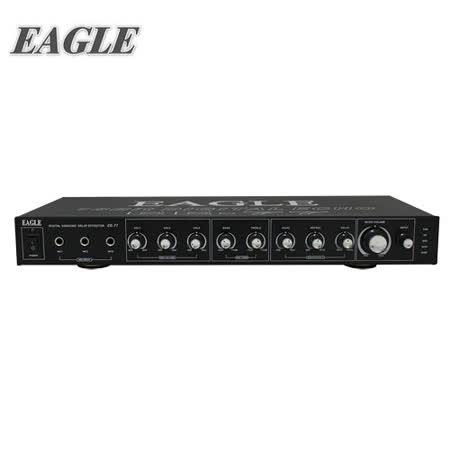 [促銷] EAGLE 專業麥克風迴音混音器(EE-77) 送原廠動圈麥克風一支(EDM-F1)